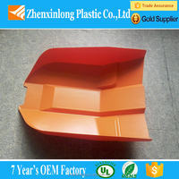 Vacuum forming black abs car model shell