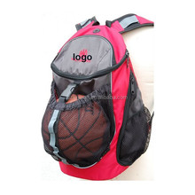 2016 hot popular customized basketball backpack with outside pocket
