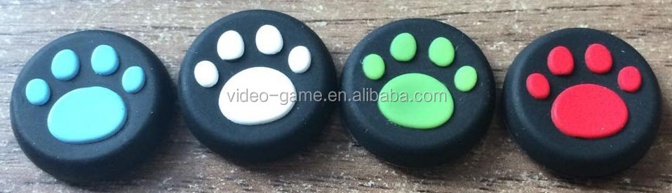 Silicone Thumb Stick Grip Cover Caps For Sony PS4 Analog Controller