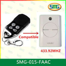 Xt4 SMG-015-FAAC 4 canal faac 433 rc control remoto rolling code 433.92 mhz