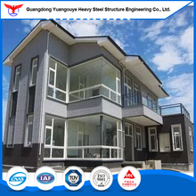 Economic Q345B Steel Structure Luxury Prefabricated House Villa for Light Gauge Steel Framing