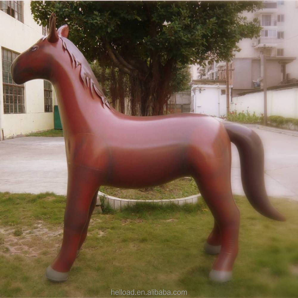 Popular giant brown animal inflatable horse for event