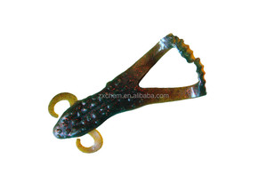 Soft Lures Hollow Body Frogs & Clackin Crayfish Trailer Similar to River2Sea