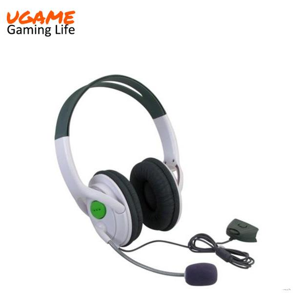 Contemporary promotional gaming earphones accessories for xbox 360