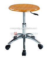 High quality lab furniture seat chairs, lab room stools with wheels, height adjustable lad chairs