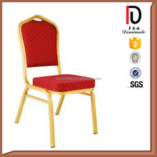 Wholesale modern stackable aluminum hotel banquet chair