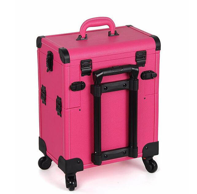 Multi-Color Customized Aluminum Cosmetic Case Beauty Makeup Cosmetic Box