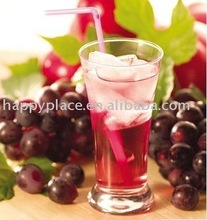 Grape juice concentrate for soft drinking