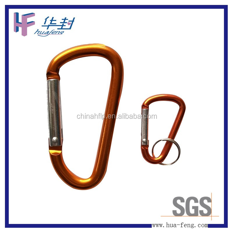 Stainless steel customized shaped mini keychain carabiner