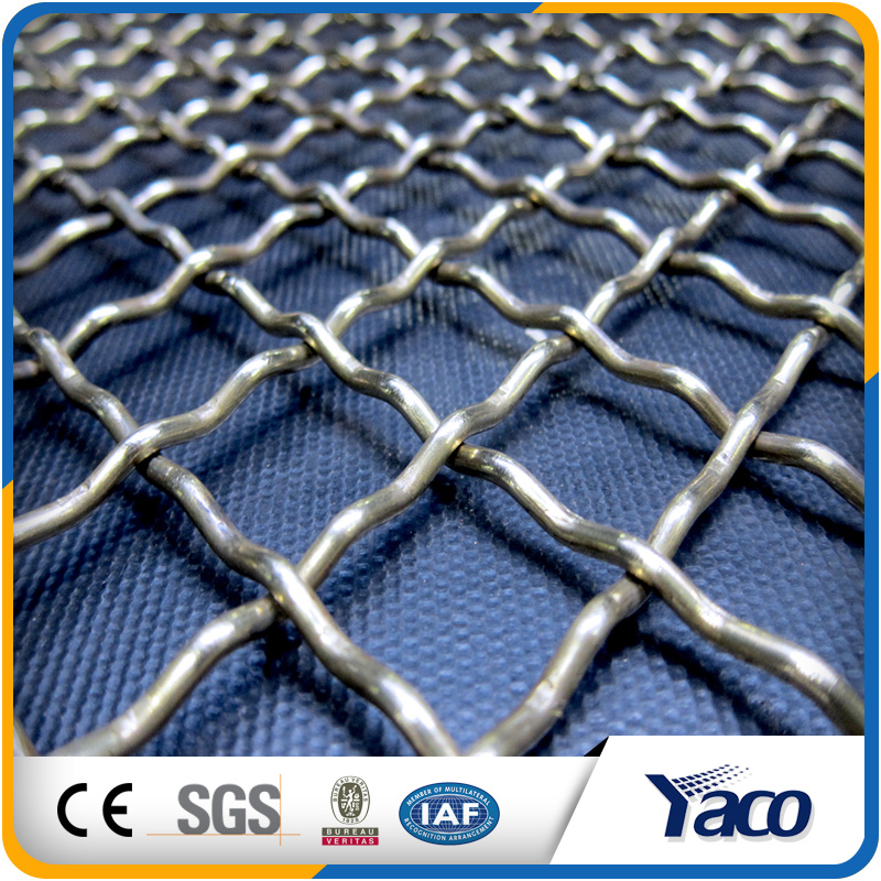 hot sale product for galvanized crimped wire mesh per roll