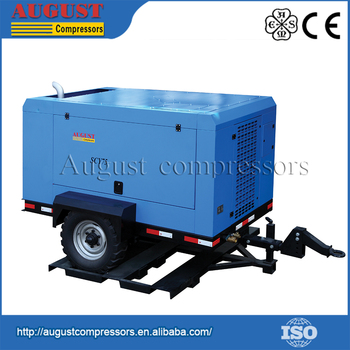 Energy-Saving 300Cfm Diesel Air Compressor