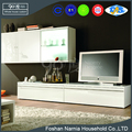 Piano Lacquer glass modern tv stand for living room furniture