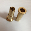 Brass pipe tube sleeve bearing bushing cnc grindering precision machine parts