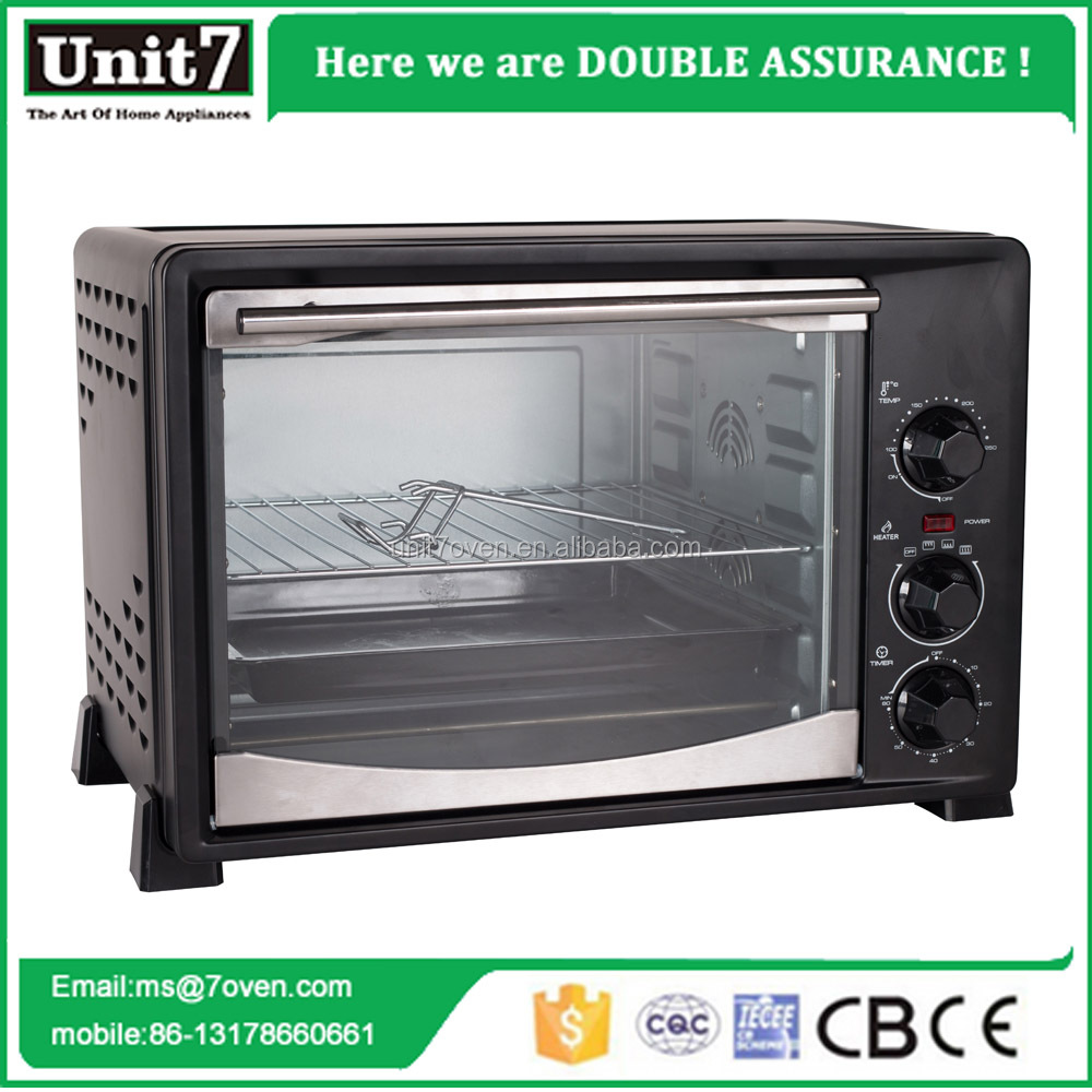 36L 1500W China Manufacture Electric Toaster oven