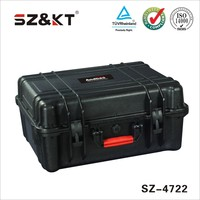 high impact abs waterproof equipment tool case
