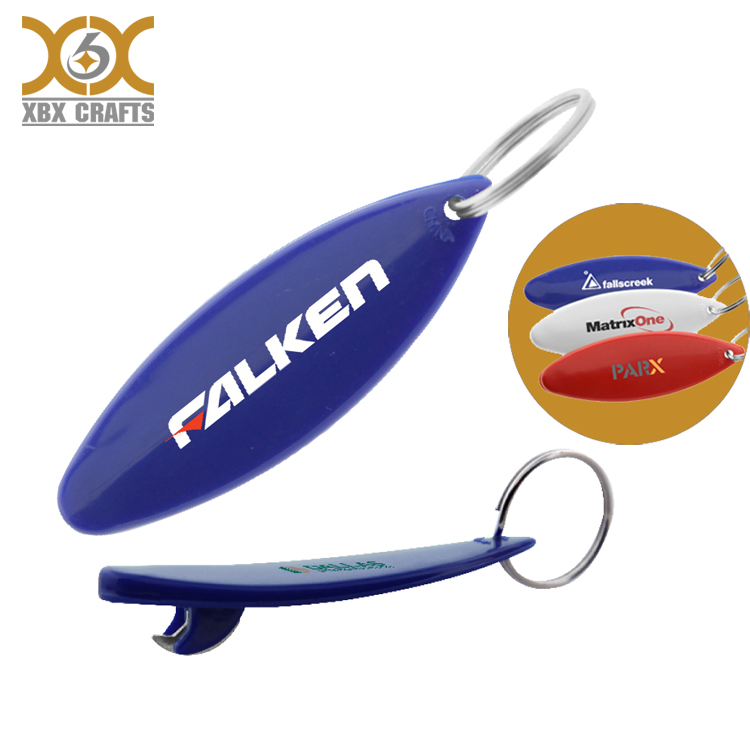 wholesale canada surfboard bottle opener keychain