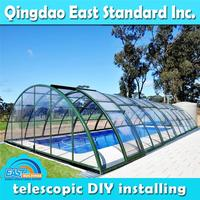 10x10m automatic above ground durable pool cover
