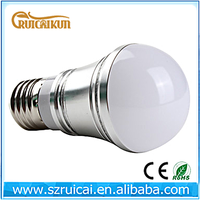 CE ROHS dimmable 5w high power e27 led bulb 110V
