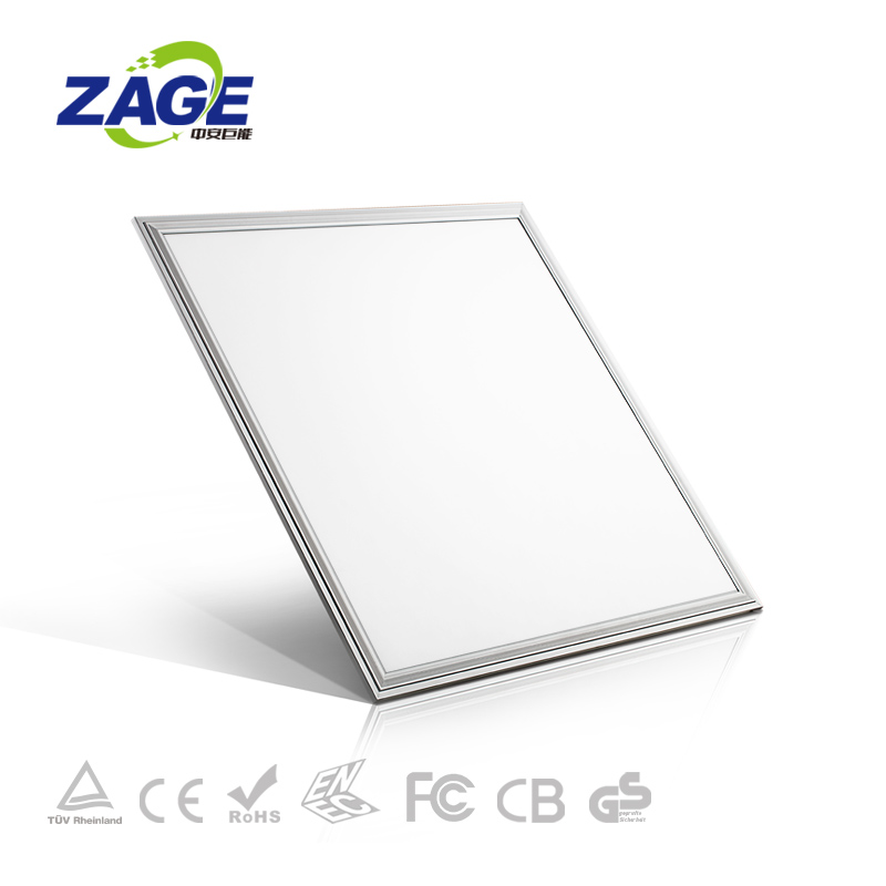 40W Rectangle LED Panel Light CCT Adjustable Wifi Dimming PF>0.9 600X600mm