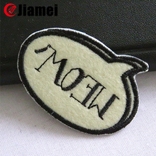 security embroidery badges custom emblems for jackets