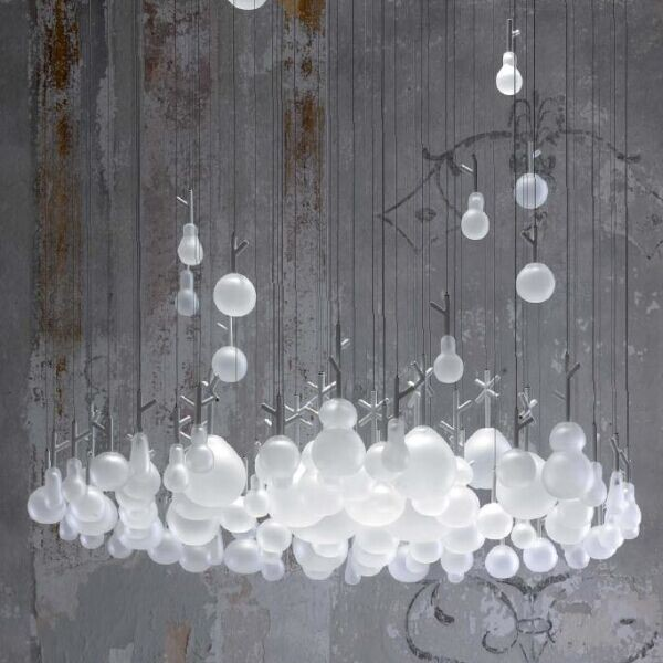 Design lamps/engineering lamp / Glass ball pendant lights