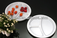 hot selling party ps disposable plastic separated plates