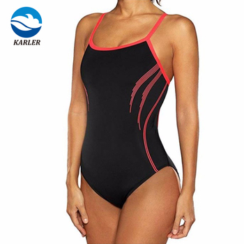 Racer Swimsuit Pro Recordbreaker Swimming Suit Comfort Strap Competition Swimming Suit Women
