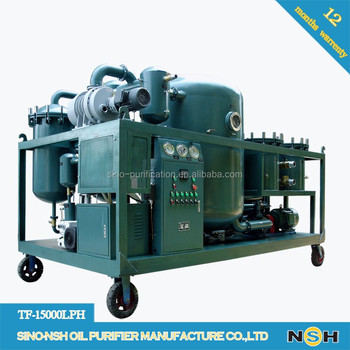Turbine oil treatment plant,oil regeneration, oil purifier