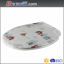 Never Fade Duroplast Decorated Printed Toilet Seats Cover
