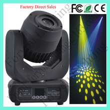 OEM/ODM Mini Compact 7 Gobos+7 Color Strobe Effect 120W Spot LED Moving Head Light