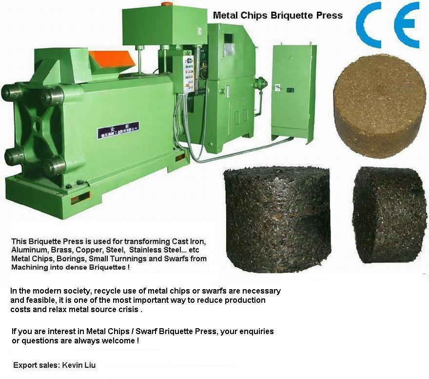 metal recycling machine,briquetting press