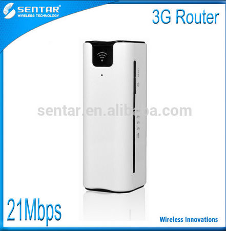 21.6M portable 3g Wifi Router 2600mAh battery