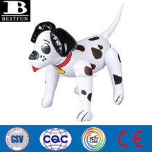 eco-friendly vinyl custom cheap inflatable dog animal toys durable plastic blow up funny pool beach garden birthday party toys