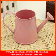 Pink Printing Metal Mini Watering Can