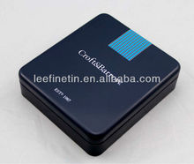 High quality hot sale rectangular wallet tin box factory from China