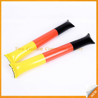 2017 china customized Colorful PE Clapper Sticks Inflatable Cheering Sticks factory GBEY-298