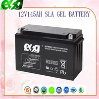 Solar Battery 12v 150ah Deep Cycle Gel battery for inverter, UPS Manufacturing