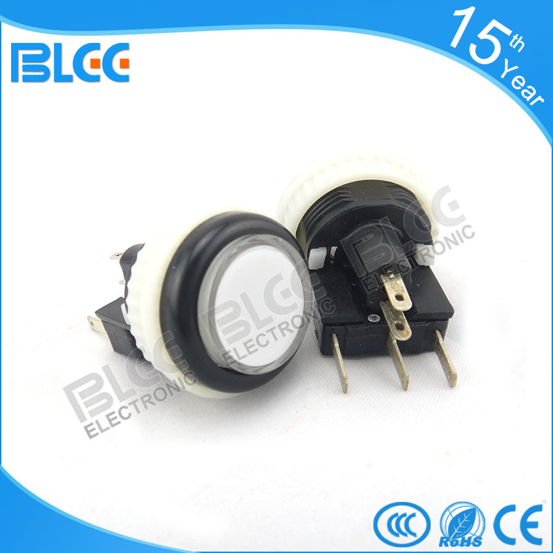 Wholesale price of small thin round led push button for game machine with high quality
