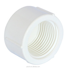 BS 4346 pvc pipe thread fittings female end cap