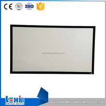 100 inch 4:3 Various Specifications Fixed Frame New Perforated Projector Screen