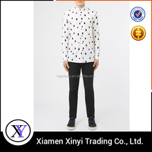 Latest design printing custom branded low price casual shirts