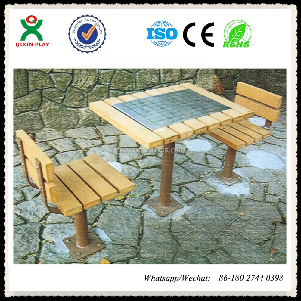 Outdoor bench table garden benches on sale outdoor bench with back QX-146G