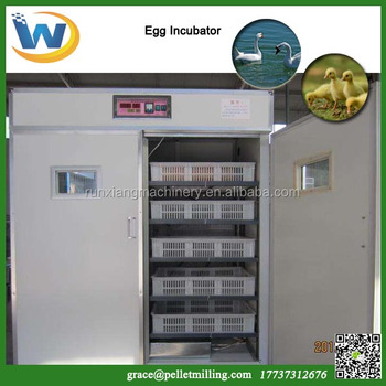 Automatic 97% hatching rate China chicken egg incubators and hatchers machine