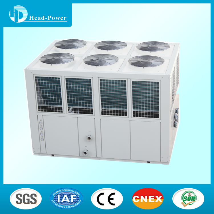 Central Air Cooled Scroll Water Chiller 50 kW Cooling Capcity HVAC Chiller