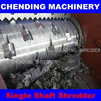 China CHENDING new paper and plastic shredder machine