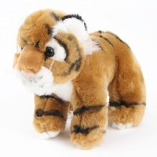 Hot Selling Lovely Tiger Shape Squeaky Pet Toys Plush Stuffed Dog Toys