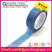 high temperature custom logo printed sticky tape quality sticker