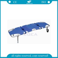 AG-2B2 Ambulance equipment aluminum alloy folding stretcher