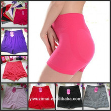 Womens Seamless Security Pants Anti Emptied Safety Boxer Panties Underwear High--waist Slimming Panty