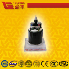 low voltage cable VV/VLV pvc insulated cable steep tape armored cable